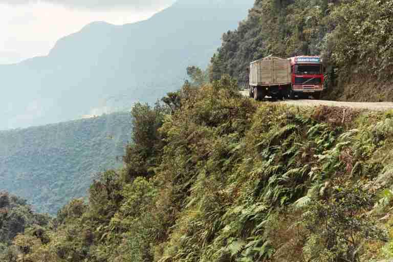 Bolivie, la route de la mort